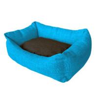 Cuna Azul Cielo Gris Mod.38 45X60Cm