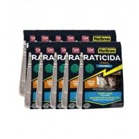 Raticida Muribrom Cereal Exprés con Brodicafum 0,0025% para Eliminar Ratas y Ratones  10 X 1 Kg