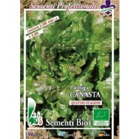 Semillas Ecologicas de Lechuga Batavia Canasta 250 G