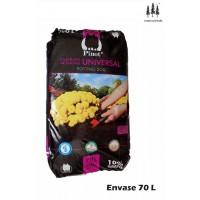Turba Sustrato de Cultivo Humus Corteza Pino 70 L Substrato Pinot Premium