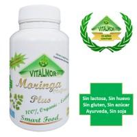 100 Capsulas de Moringa Oleifera Vitalmor Ecologica