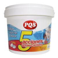 Cloro 5 Acciones 5 Kilos. PQS