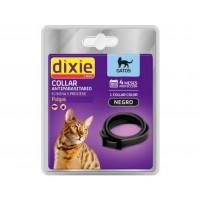 Collar Gatos Dixie Antiparasitario Anti Pulgas y Garrapatas Color Negro