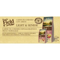 Sam's Field Light & Senior Cordero con Arroz 13 Kg