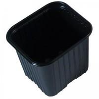 Set de 36 Macetas de Plástico Negro