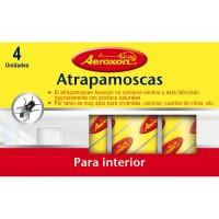 Tiras Atrapamoscas para Interior Aeroxon (4 Unidades)