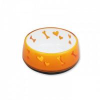AFP Comederos Love Plástico -Naranja M-600Ml