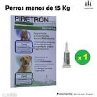 Pipeta Piretron (Perros-15 Kg) Pipetas Pulgas