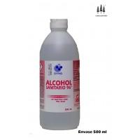 Alcohol Sanitario 96º Antiséptico para Piel Sana 0,5 L Heridas, Rozaduras