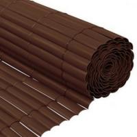 Cañizo PVC Chocolate Media Caña 2x3 M