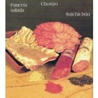 Chorizo, Salchichón, Sobrasada. Curados Sierr