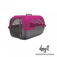 Dogit Pet Voyaguer M Fucsia/gris