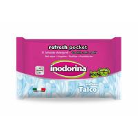 Inodorina Toallitas Refresh Talco Pocket 15 U