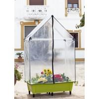 Jardinera (Para Cultivo con Tierra) 120 X 65 X 33,5 con Invernadero Incluido