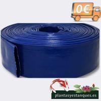 Manguera de Suministro de Agua de PVC, 51mm 50m.