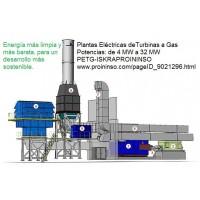 Plantas Eléctricas de Turbinas a Gas. Energía Más Limpia para un Desarrollo Más Sostenible.