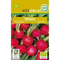 Semillas Ecologicas Rabano Rojo Saxa 5Gr