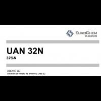Solución 32 N  Solución de Nitrato de Amonio y Urea de Eurochem Agro