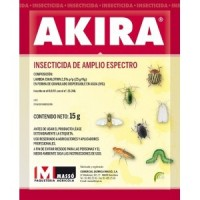 Insecticida Lambda Cihalotrin 2.5%  Akira 15GR Masso