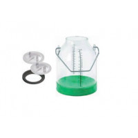 Insprovet Cubo de Plástico para Ordeño 30 L,