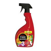 Afidor Triple Acción Flower Insecticida Fungicida y Acaricida Plantas 750 Ml