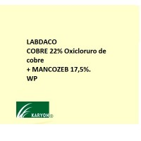 Labdaco, Cobre 22% Oxicloruro de Cobre + Mancozeb 17,5%. de Karyon 5 Kg
