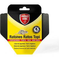 Protect HOME Portacebos para Ratones, Llave de Seguridad Fácil E Higiénico