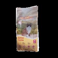 Sacos 2KG Pienso Docampo Comida para Gatos Sabor Carne