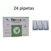 24 Pipetas Flevox 0,50 Ml Anti Pulgas y Garra