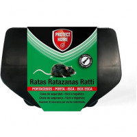 Portacebos para Ratas con Llave Protect HOME Fácil E Higiénico para Ratas XL