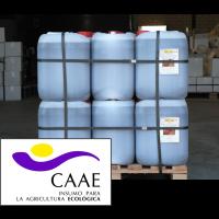 Bioestimulante Ecológico Trama y Azahar B-2, Abono CE. Sin Hormonas. Certificado CAAE. Palet de 28 Garrafas X 20 Kg