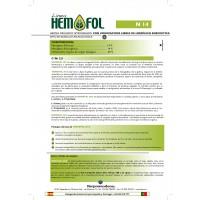 Hemofol N14 Seco Soluble (15Kg)  Orgánico Nitrogenado (Ecologico)