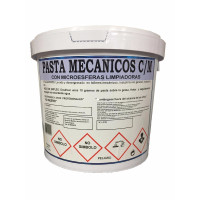 Pasta Desengrasante Lavamanos para Mecánicos con Microesferas Limpiadoras- Higienizante  (Bote 5 Litros)