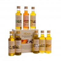 Selección Aceites Aromatizados 8 Botellines X 4 Cl. Cada uno