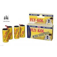 4 Tiras Atrapamoscas Fly-Kol Sin Veneno Uso Doméstico