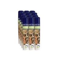 Insecticida Anti Avispas, Avispones y Avispa Asiática O Velutina PBA Adybac 1001. Spray de Nube Exterior. Pack 12 X 750 Ml