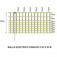 Malla Eléctrica Conejos 0.50 X 50 M