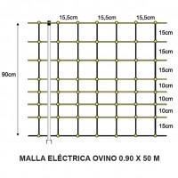 Malla Eléctrica Ovino 0.90 X 50 M