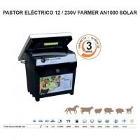 Pastor Eléctrico 12 / 230V Farmer An1000 Sola