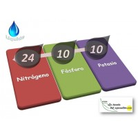 Abono Liquido Lta 24-10-10 + Micros - en Garrafas de 10 Litros.
