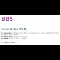 BB5 Solución de Abono NP 3-18. de Sipcam Iberia