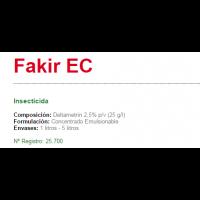 Fakir EC Insecticida de Sipcam