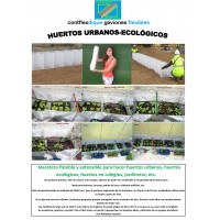 Huerto Urbano,ecologico,colegios,macetero Flexible