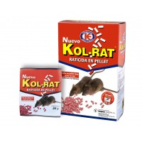 Kol Rat, Veneno en Pellet para Ratas - Caja 150 Gr (Bromadiolona)