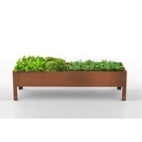 Mesa de Cultivo Medius 40 Acero Corten | Huer