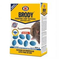 Raticida en Mini Óvulos 4/5 Gr Brody Bloques Veneno Mata Ratas Ratones 300 Gr