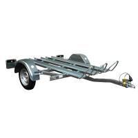 Remolque para Motos Galvanizado - Capacidad 3