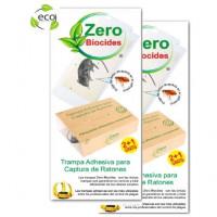 Trampa Adhesiva ZERO Biocides Sin Veneno PACK de 6