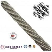 Cable Arrobadera Inoxidable AISI 316 de 8 Mm.