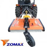 Desbrozadora 2 Cuchillas Marca Zomax para Tractor, Adaptable a Pascuali, Kubota,john Deere, Agria
